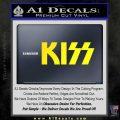 KISS Decal Sticker Yellow Laptop 120x120