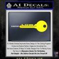 Low Key Decal Sticker Yellow Laptop 120x120