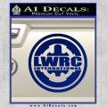 Lwrc International Firearms Decal Sticker Blue Vinyl 120x120