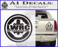 Lwrc International Firearms Decal Sticker Carbon FIber Black Vinyl 120x97