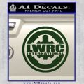 Lwrc International Firearms Decal Sticker Dark Green Vinyl 120x120