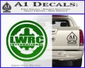 Lwrc International Firearms Decal Sticker Green Vinyl Logo 120x97
