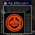 Lwrc International Firearms Decal Sticker Orange Emblem 120x120