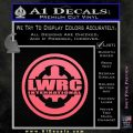 Lwrc International Firearms Decal Sticker Pink Emblem 120x120