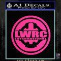 Lwrc International Firearms Decal Sticker Pink Hot Vinyl 120x120