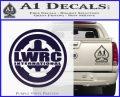 Lwrc International Firearms Decal Sticker PurpleEmblem Logo 120x97