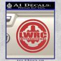 Lwrc International Firearms Decal Sticker Red 120x120