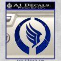 Mass Effect Paragon Logo Decal Sticker Blue Vinyl 120x120