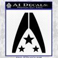 Mass Effect Systems Alliance Navy Logo Decal Sticker Black Vinyl 120x120