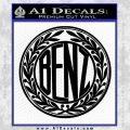 Mercedes Benz C1 Decal Sticker Black Vinyl 120x120