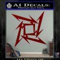 Metallica Ninja Star Decal Sticker DRD Vinyl 120x120