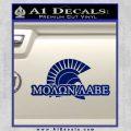 Molon Labe D4 Decal Sticker Blue Vinyl 120x120