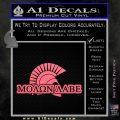 Molon Labe D4 Decal Sticker Pink Emblem 120x120