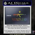 Molon Labe Texas Star Decal Sticker Glitter Sparkle 120x120