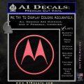 Motorola M Decal Sticker Pink Emblem 120x120