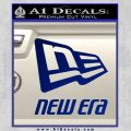 New Era Full Stacked Decal Sticker Blue Vinyl 120x120