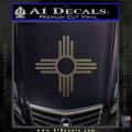 New Mexico Zia Symbol Decal Sticker CFC Vinyl 120x120