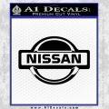 Nissan Decal Sticker Full Black Vinyl 120x120