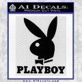 Playboy Decal Sticker Full Black Vinyl 120x120