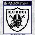 Raiders Mask Off Oakland Decal Sticker Black Vinyl 120x120
