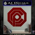 Robo Cop OCP Logo Decal Sticker DRD Vinyl 120x120