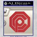 Robo Cop OCP Logo Decal Sticker Red 120x120