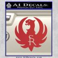 Ruger Firearms SR Decal Sticker Red 120x120