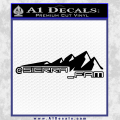 SIERRA FAM D2 DECAL STICKER BLACK 120x120