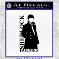 Sherlock Holmes Poster D1 Decal Sticker Black Vinyl 120x120
