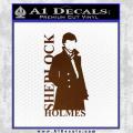 Sherlock Holmes Poster D1 Decal Sticker Brown Vinyl 120x120