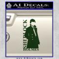 Sherlock Holmes Poster D1 Decal Sticker Dark Green Vinyl 120x120