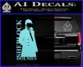Sherlock Holmes Poster D1 Decal Sticker Light Blue Vinyl 120x97