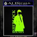 Sherlock Holmes Poster D1 Decal Sticker Neon Green Vinyl 120x120