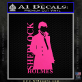 Sherlock Holmes Poster D1 Decal Sticker Neon Pink Vinyl 120x120