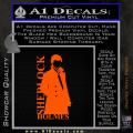 Sherlock Holmes Poster D1 Decal Sticker Orange Emblem 120x120
