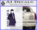 Sherlock Holmes Poster D1 Decal Sticker Purple Vinyl 120x97