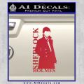 Sherlock Holmes Poster D1 Decal Sticker Red Vinyl 120x120