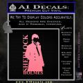 Sherlock Holmes Poster D1 Decal Sticker Soft Pink Emblem 120x120