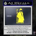Sherlock Holmes Poster D1 Decal Sticker Yellow Vinyl 120x120