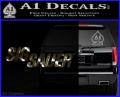 Sig Sauer Decal Sticker Wide 3DC Vinyl 120x97