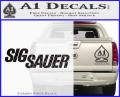 Sig Sauer Decal Sticker Wide CFB Vinyl 120x97