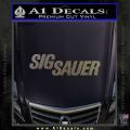 Sig Sauer Decal Sticker Wide CFC Vinyl 120x120