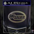 Sig Sauer Oval D2 Decal Sticker CFC Vinyl 120x120