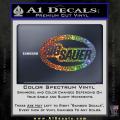 Sig Sauer Oval D2 Decal Sticker Spectrum Vinyl 120x120