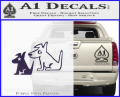 Sirius Satellite Decal Sticker Dogs 1 120x97