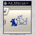 Sirius Satellite Decal Sticker Dogs 17 120x120