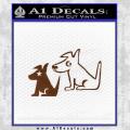 Sirius Satellite Decal Sticker Dogs 18 120x120