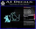 Sirius Satellite Decal Sticker Dogs 2 120x97