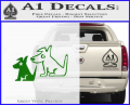 Sirius Satellite Decal Sticker Dogs 3 120x97
