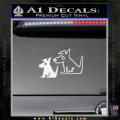 Sirius Satellite Decal Sticker Dogs 7 120x120